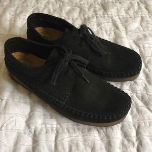 Clark's Originals black boots